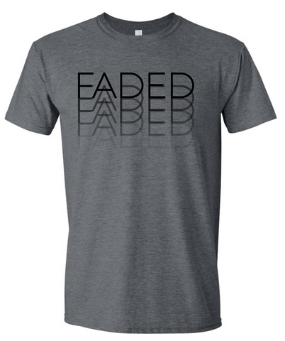 Faded Dark Gray Shirt