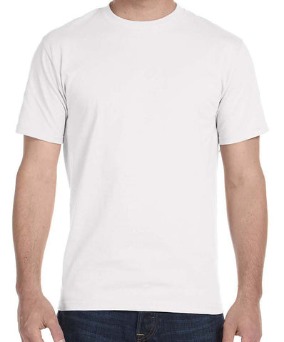 White T-Shirt with Full Color Print - HuddyWear