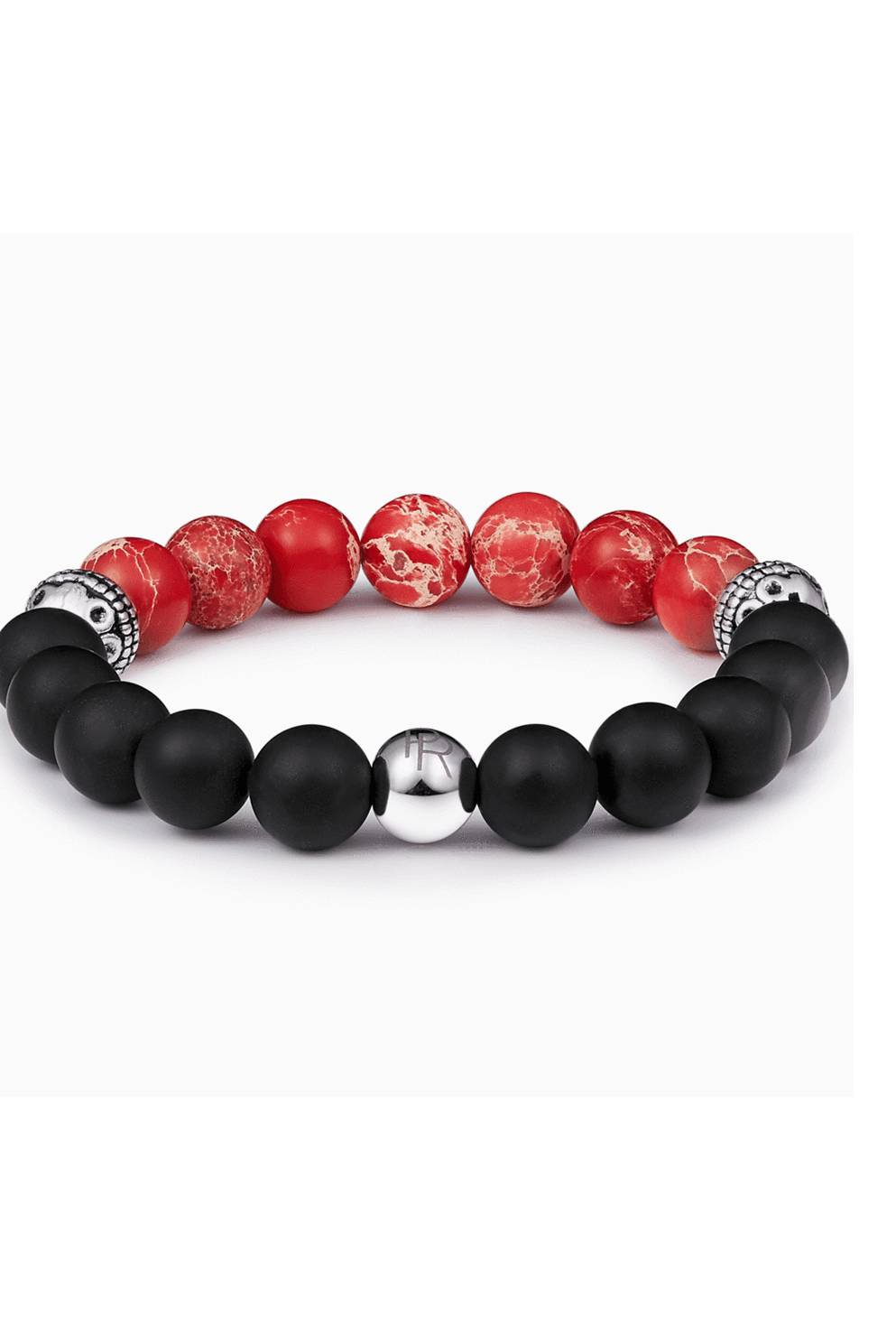 Red Lava Gemstone Bracelet