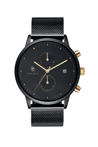 Cosmic black watch