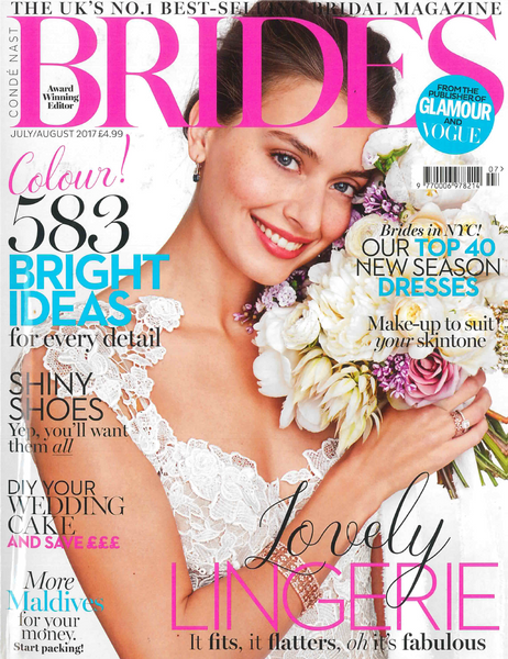 BRIDES Magazine July/August 2017 issue