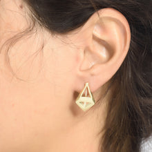 Superchic Earnings Plated with 14K Gold