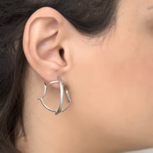 WAVE 925 Silver earrings