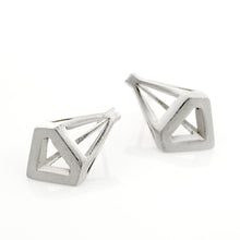 Superchic Earnings 925 Silver Plated with White Rhodium