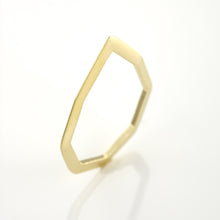 Minimal Ring Plated With 14K Gold