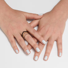 Minimal Ring 925 Silver Plated With White Rhodium