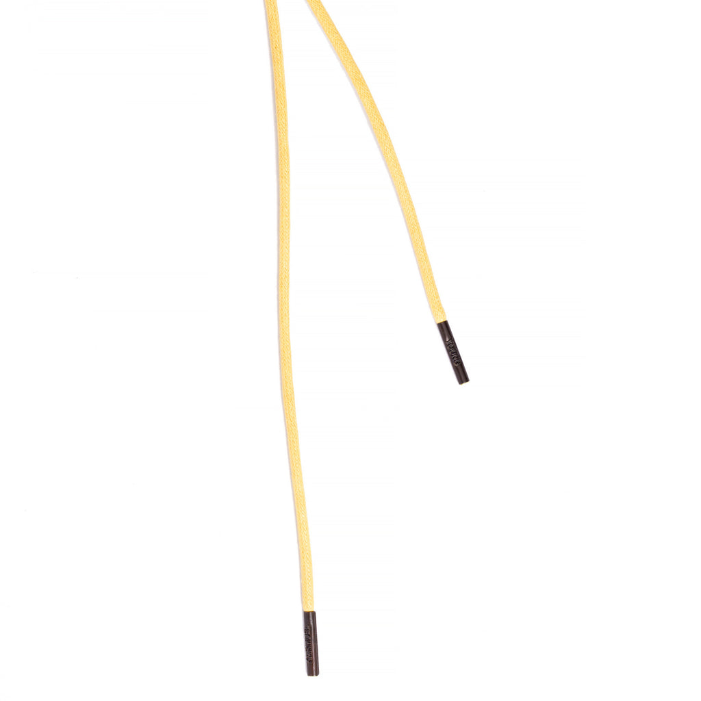 SL-810 <br/>Waxed Shoelaces in 810mm<br/>Yellow Plain Tubular Cord