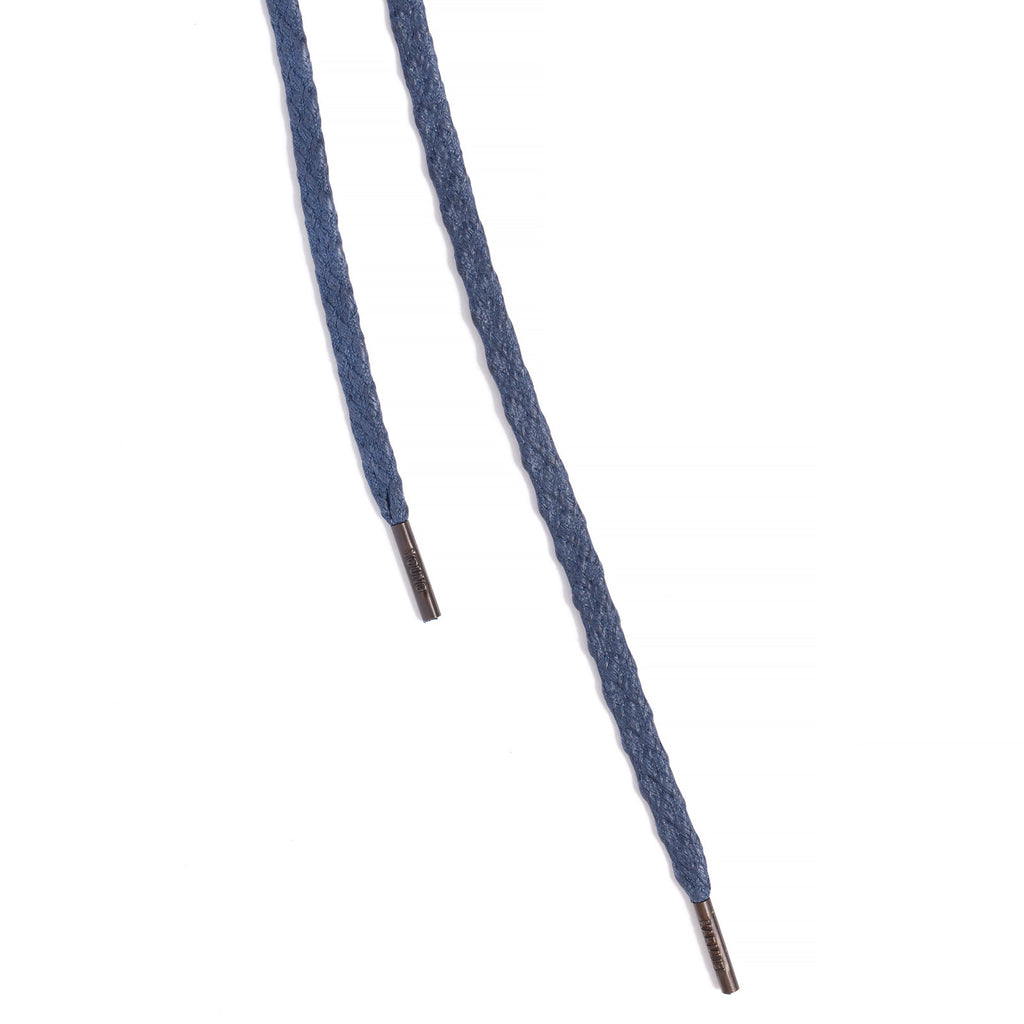 SL-810 <br/>Waxed Shoelaces in 810mm<br/>Navy Textured Flat Cord