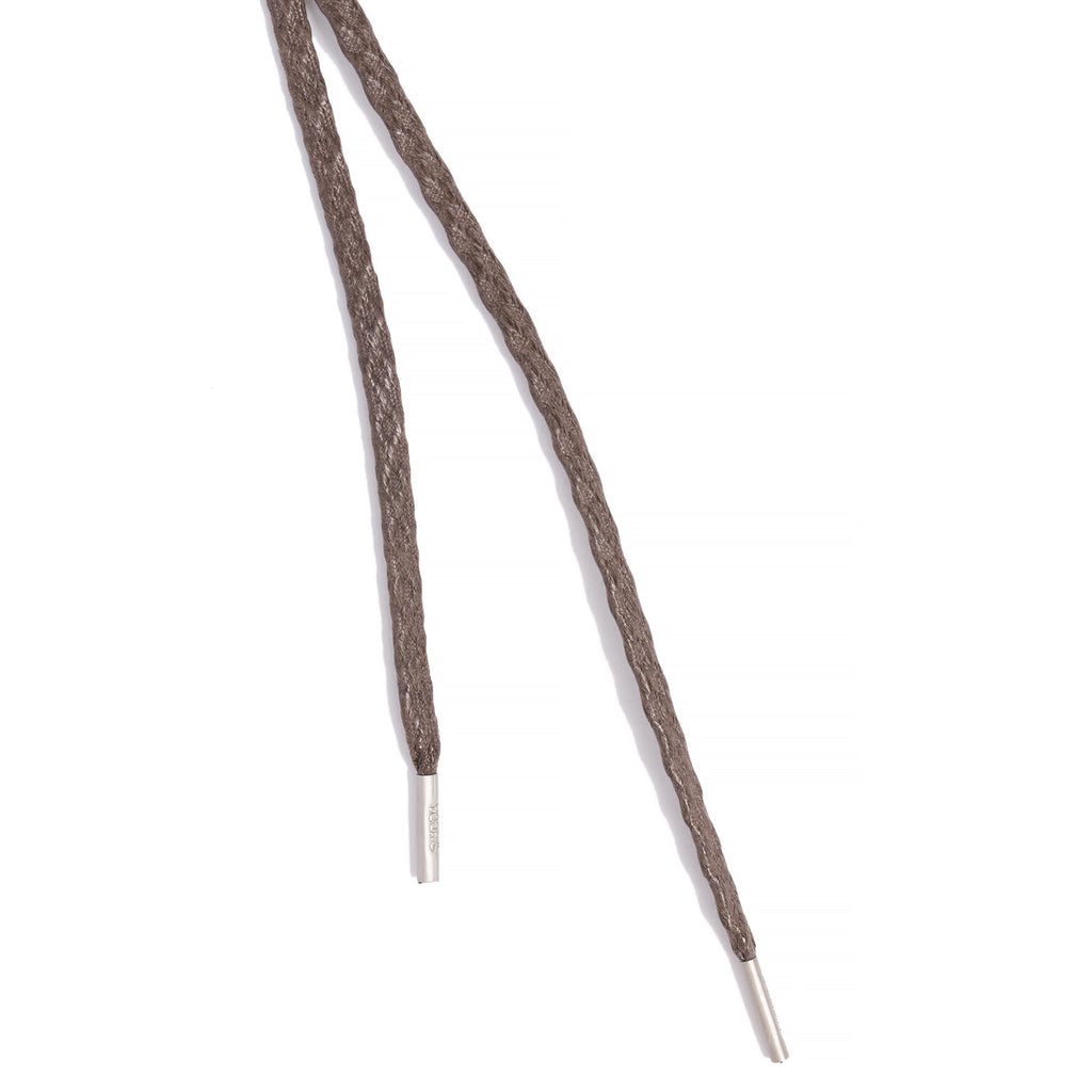 SL-810 <br/>Waxed Shoelaces in 810mm<br/>Brown Textured Flat Cord