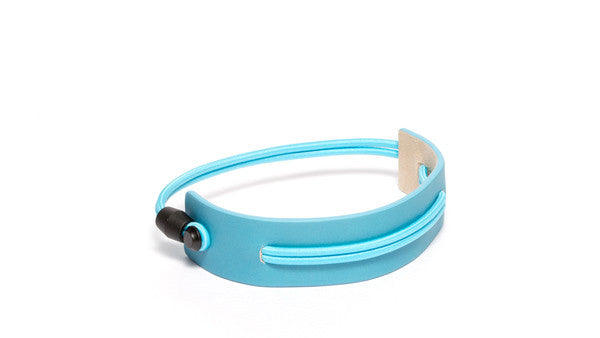 SC-25 <br>Shoe Cuff in 25mm width<br>Light Blue Calf Leather