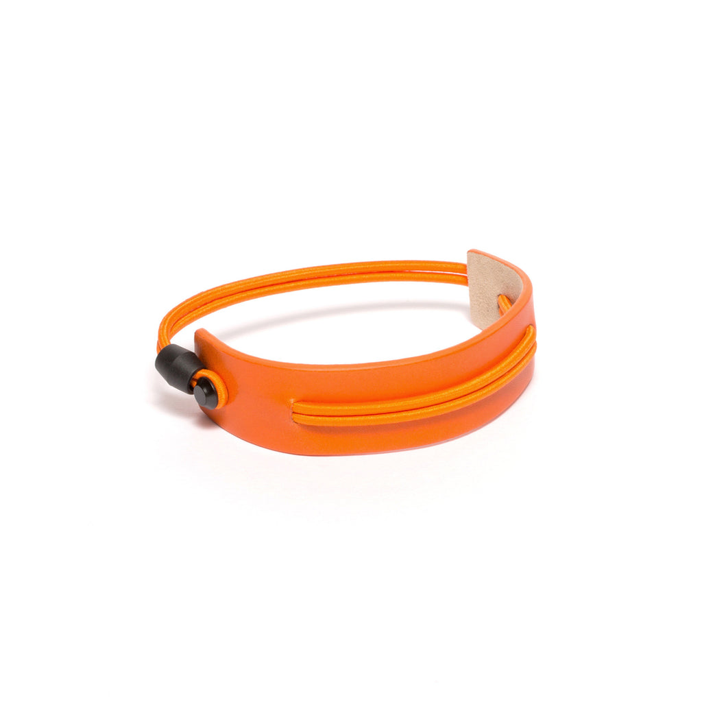 SC-25 <br>Shoe Cuff in 25mm width<br>Orange Calf Leather
