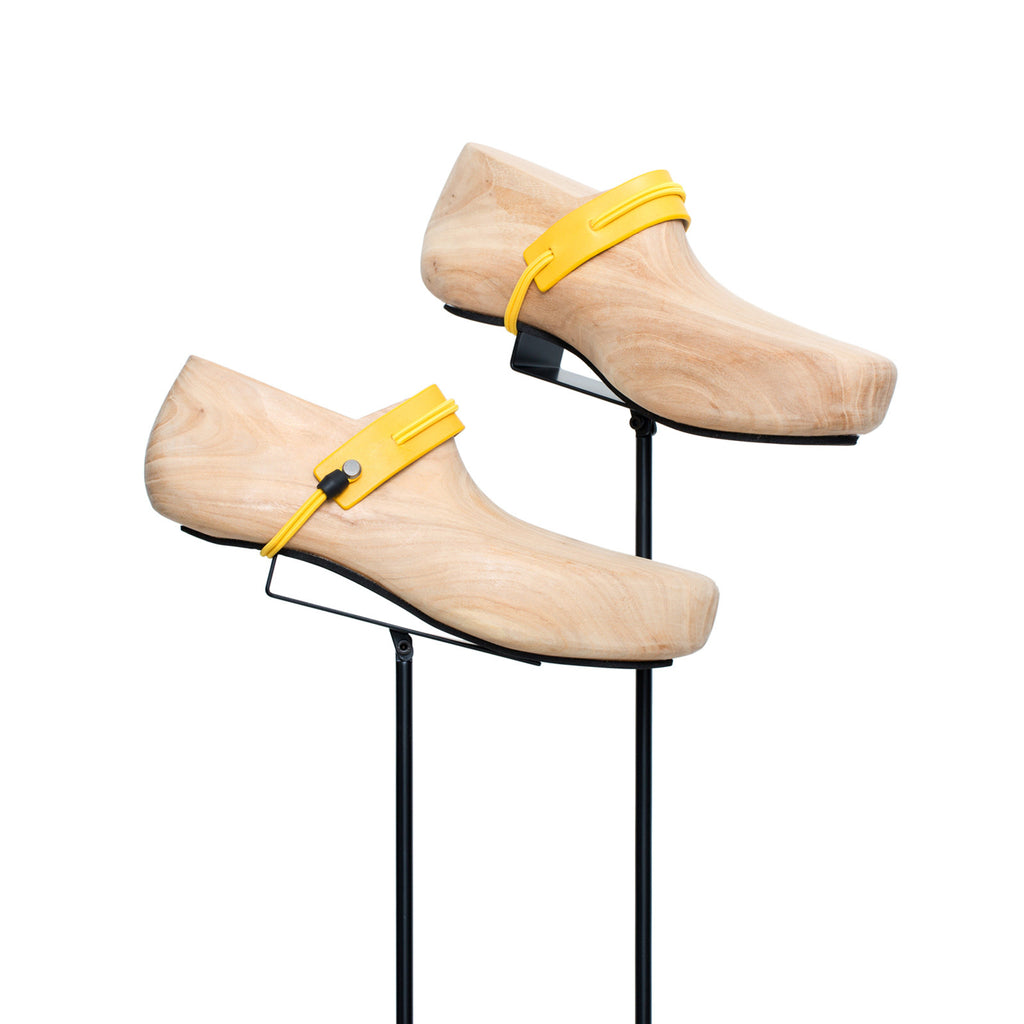 SC-25 <br>Shoe Cuff in 25mm width<br>Yellow Calf Leather