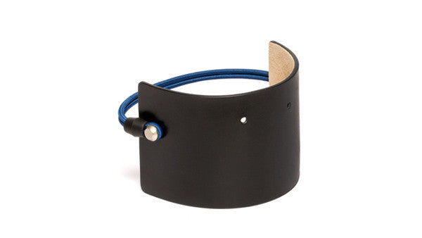 SC-65<br>Shoe Cuff in 65mm width<br>Black Calf Leather
