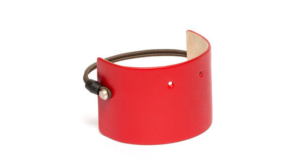 SC-65 <br> Shoe Cuff in 65mm width <br> Red Calf Leather