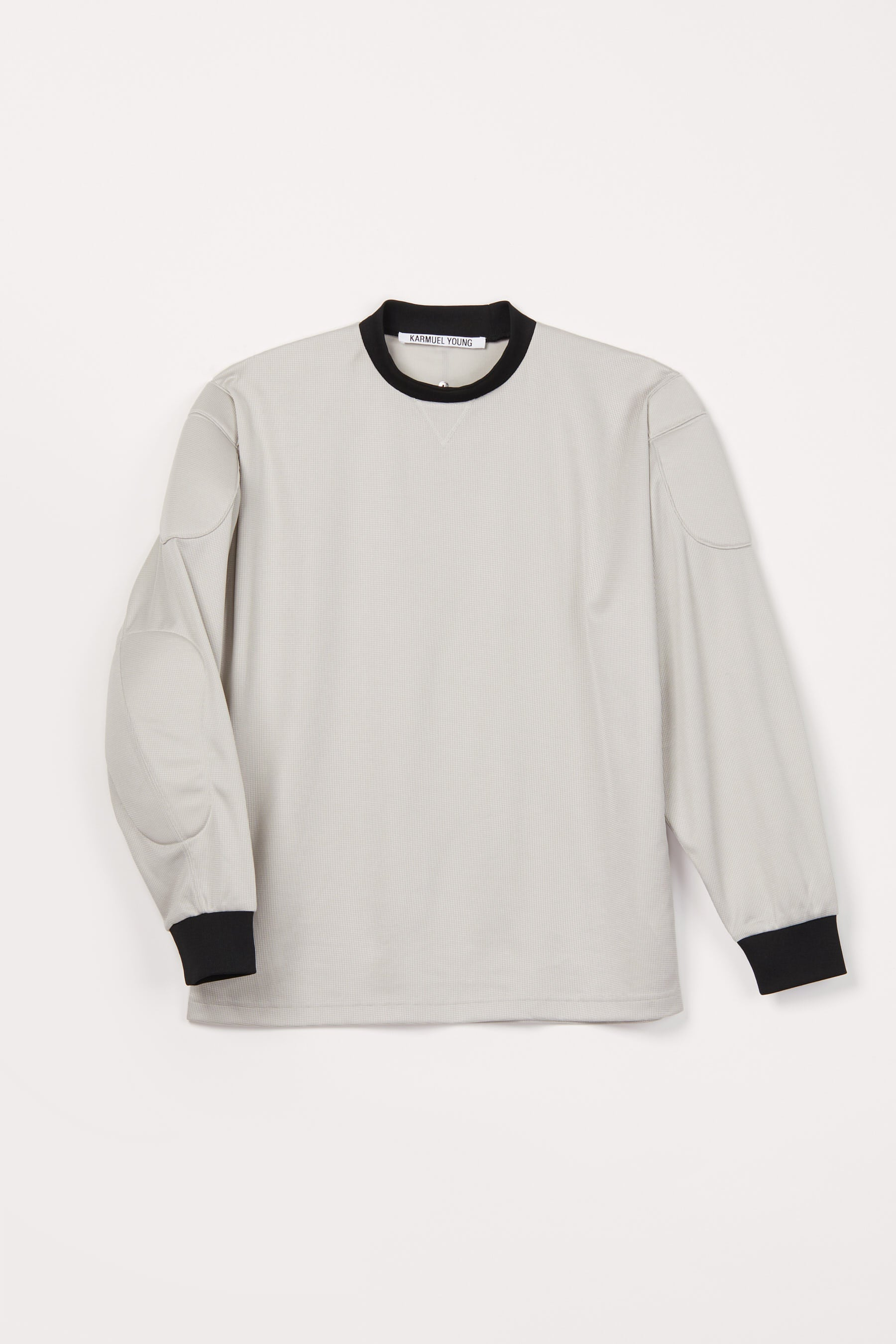 Grey Strong Arm Padded Sweatshirt