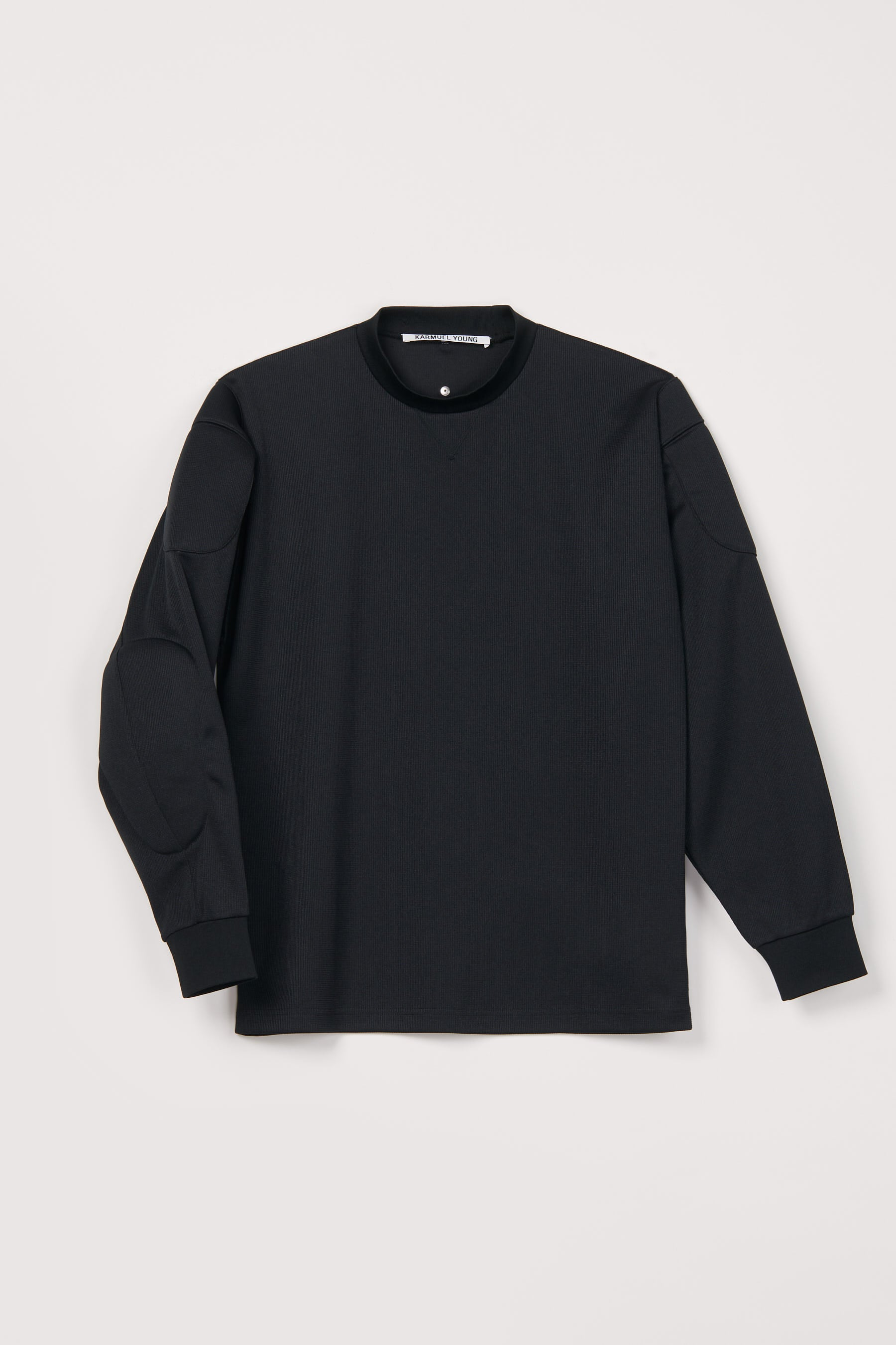 Black Strong Arm Padded Sweatshirt