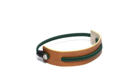 SC-25<br>Shoe Cuff in 25mm width<br>Camel Calf Leather