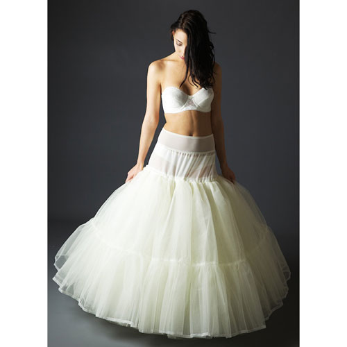 Jupon 128 Eight layered Petticoat perfect for holding the shape of full a-line & princess dresses