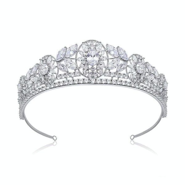 Tiara is Pink Daisy Bridal's luxury collection, the Alexandra is part of Platinum Collection