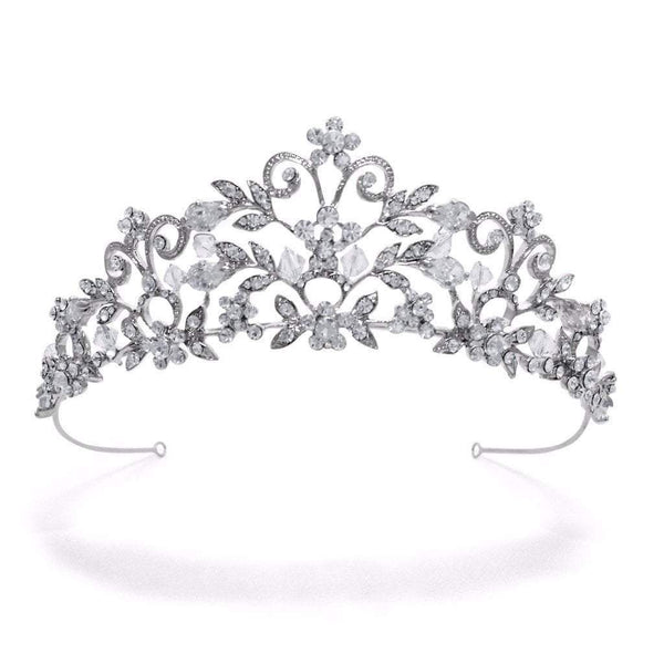 Pink Daisy Bridal has the Amalia Simulated Diamond Tiara available from Starlet Jewellery