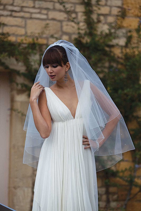 Antigua Diamante Wedding Veil