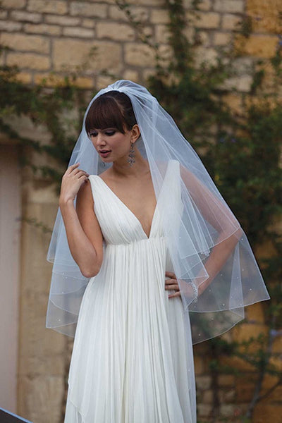 'Antigua' Diamante Wedding Veil
