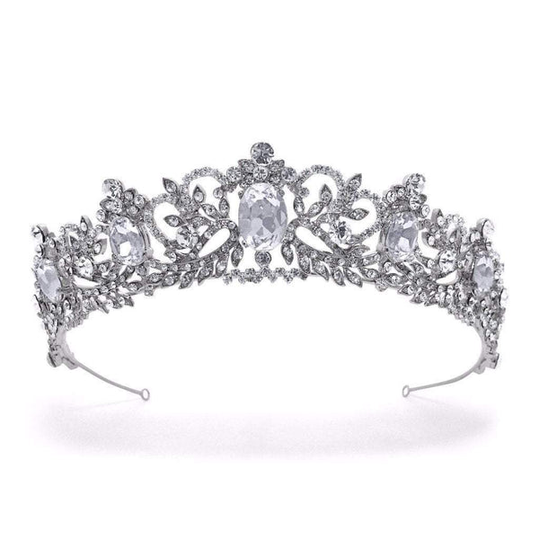 Antoinette Regal Style Tiara here at Pink Daisy Bridal will make any bride feel like a princess