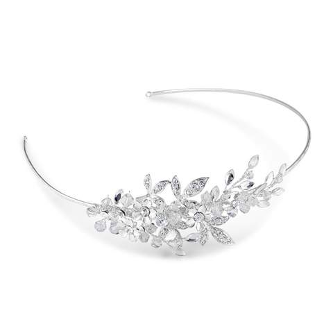 Starlet Jewellery Collection, the Aspen Side Detail Headband adds delicate sparkle to any hairstyle