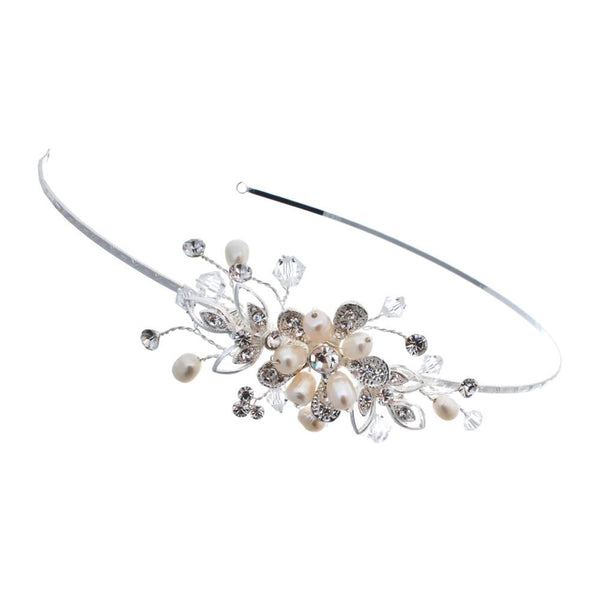'Bouquet' Side Detail Tiara