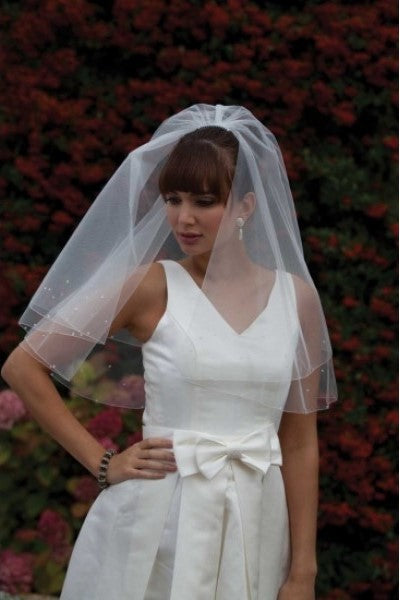 'Castilla' Diamante Wedding Veil