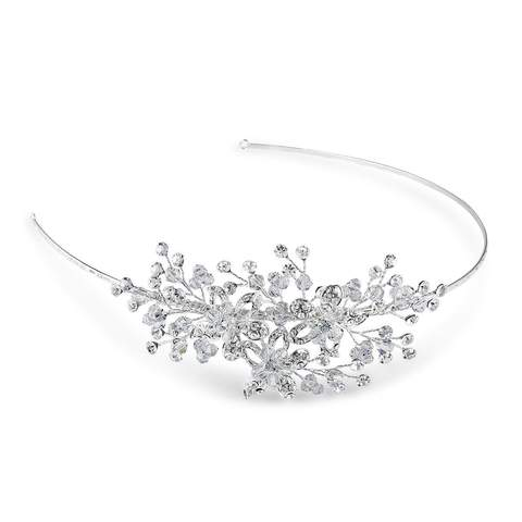 Clarence Side Detail Tiara, available now from Pink Daisy Bridal by Starlet Jewellery.