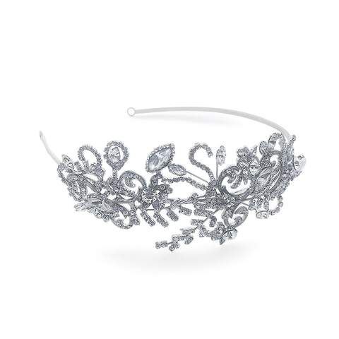 the striking Gatsby Headband tiara is here at Pink Daisy Bridal.