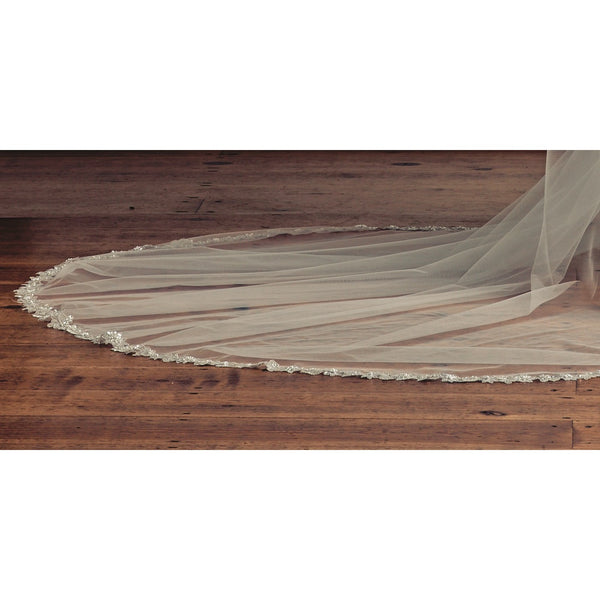'Honeychurch' Bohemian Inspired Veil