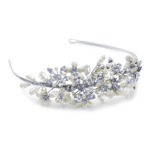 Juliette Side Tiara from Pink Daisy Bridal blends feminine charm with beauty, Starlet jewellery