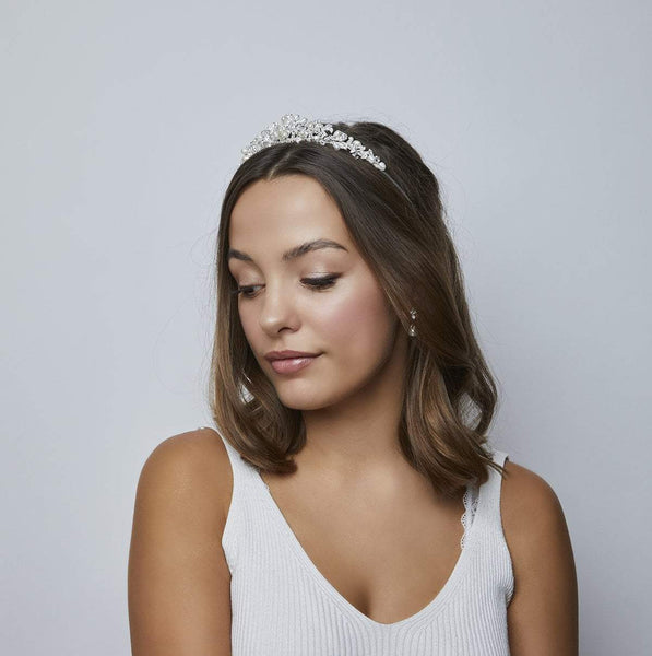 Kensington Freshwater Pearl Tiara by Starlet Jewellery celebrates the beauty of freshwater pearls