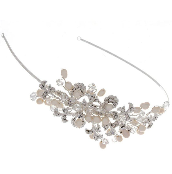 Kensington Side Tiara at Pink Daisy Bridal boasts the perfect blend of vintage opulent indulgence