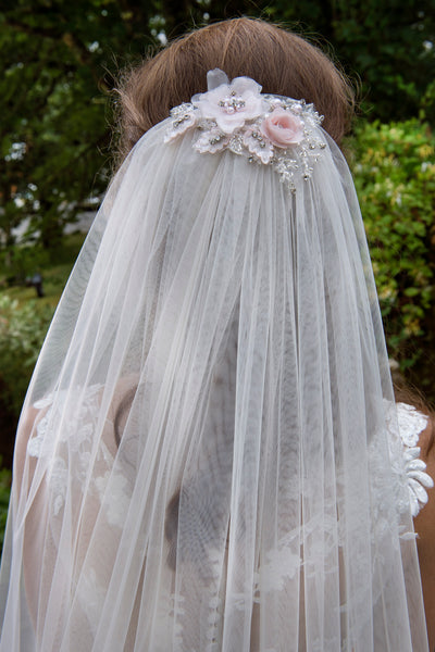'Melbourne' Blossom and Daisies Veil - NEW for 2018