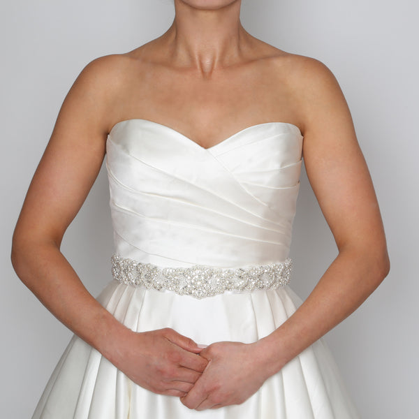 Crystal & Pearl Bridal Belt
