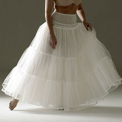 This Jupon 153 Bridal Petticoat is the perfect for the gown that needs a lighter, softer silhouette