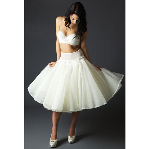 Jupon 125 style Petticoat is the perfect solution for the short length of the 1950's vintage dress