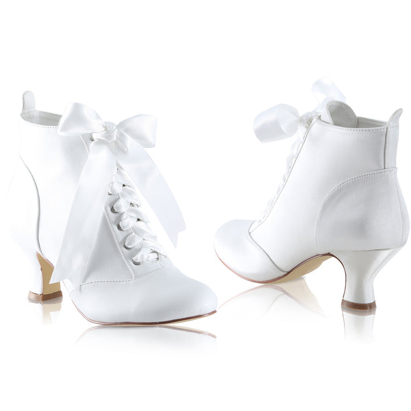 'Norah' Bridal Ankle Boots - NEW for 2018!