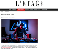 Feature in L'etage Magazine