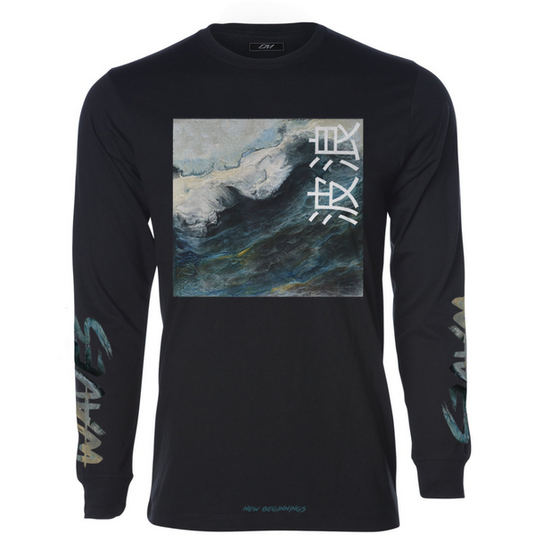 """Waves"" LS Tee"
