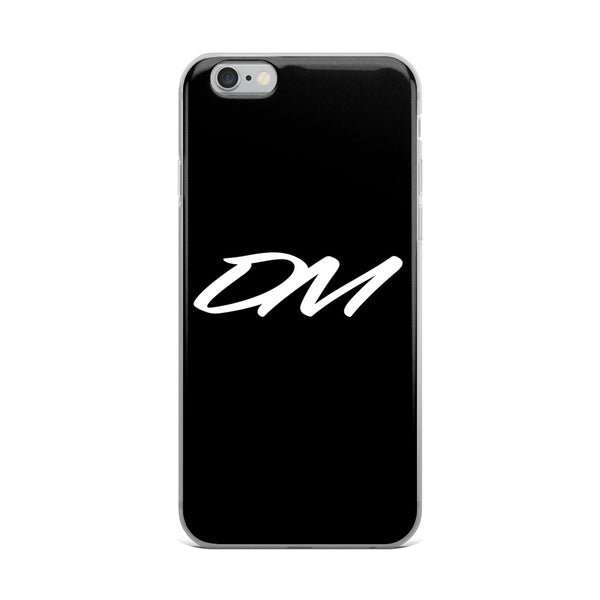 """DM"" Logo iPhone Case"