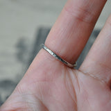 Handmade Silver Heart Ring - UK Size O (US Size 7), Rings - the nine of hearts jewellery