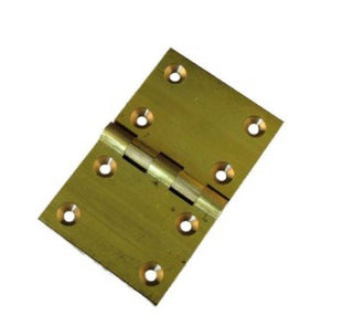 HINGE BACK FLAP BRASS PAIR