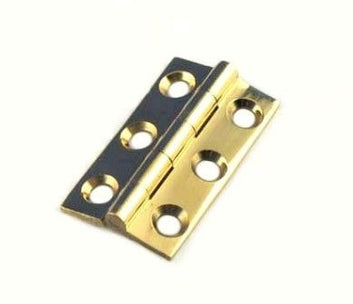 HINGE BUTT BRASS OR CHROME (PAIR)