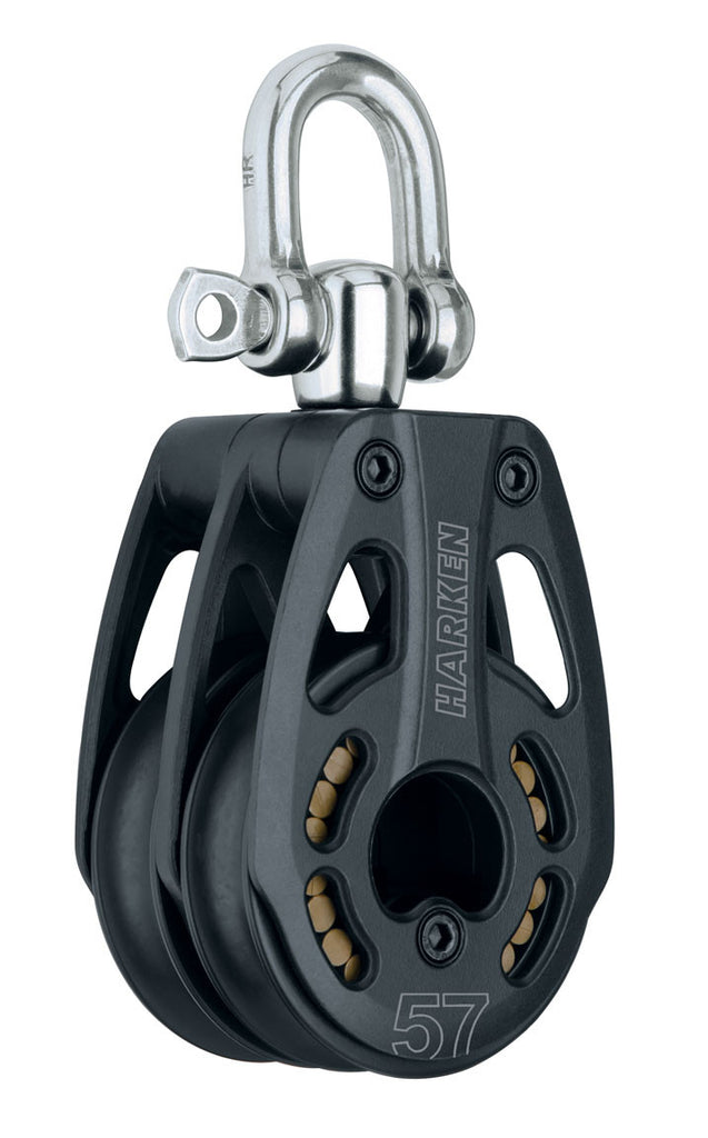 HARKEN 57MM BLACK MAGIC DOUBLE SWIVEL HL