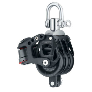 45 mm Aluminum Element, Triple Block Swivel, Becket w/Cam