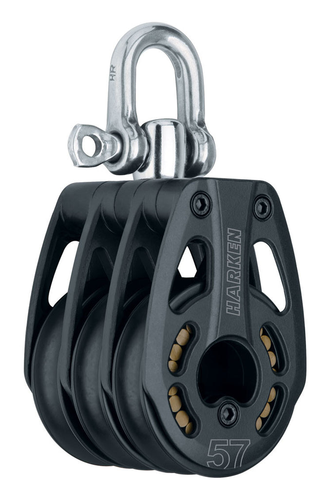 HARKEN 57MM BLACK MAGIC TRIPLE SWIVEL HL